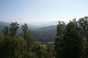 White Oak Mountain view